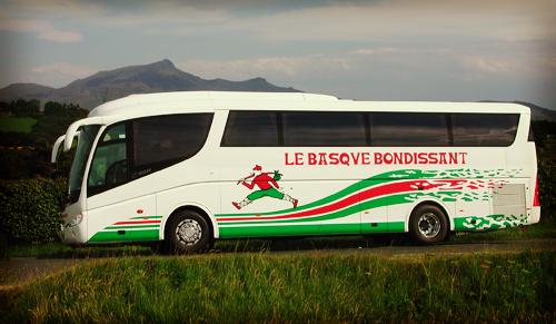 le basque bondissant transporteur au pays basque. Black Bedroom Furniture Sets. Home Design Ideas