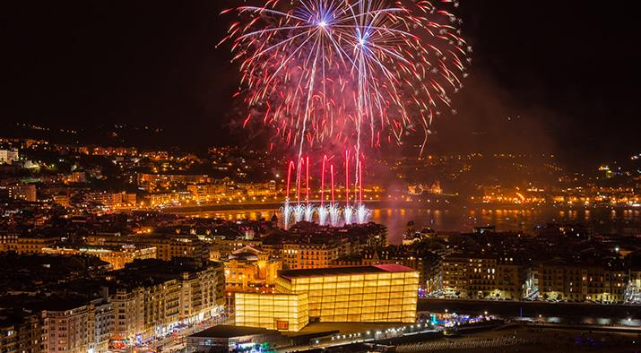 Concours International de feux d'artifice - Semana Grande